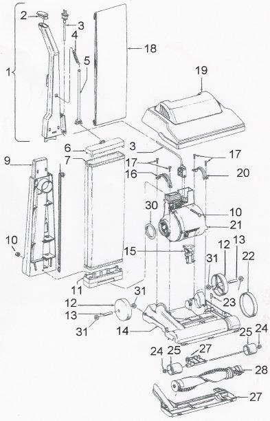 1200w upright vacuum kmart manual