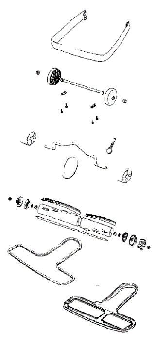 sanitaire model sc688 vacuum parts