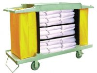 6800- MULTI FUNCTION DOUBLE BAGGED HOTEL SERVICE CART