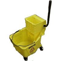 Mop Bucket with Sidepress Wringer